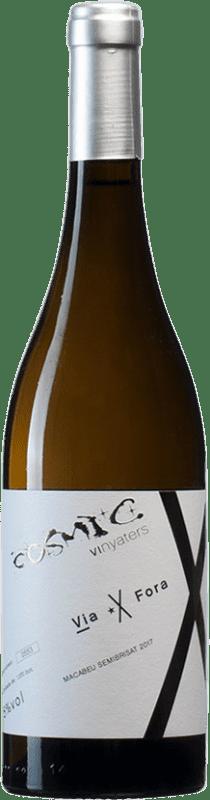 15,95 € | White wine Còsmic Via Fora Semi-Brisat D.O. Penedès Catalonia Spain Macabeo Bottle 75 cl