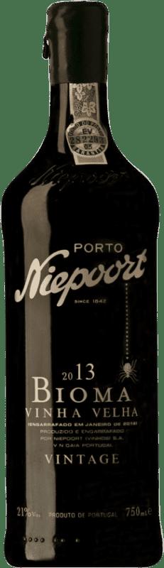 79,95 € Free Shipping | Red wine Niepoort Vintage Bioma Port I.G. Porto Porto Portugal Touriga Franca, Touriga Nacional, Tinta Roriz Bottle 75 cl