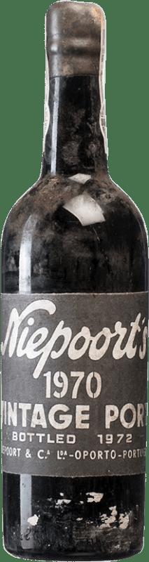 519,95 € Free Shipping | Red wine Niepoort Vintage 1970 I.G. Porto Porto Portugal Touriga Franca, Touriga Nacional, Tinta Roriz Bottle 75 cl