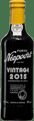 43,95 € Free Shipping | Red wine Niepoort Vintage I.G. Porto Porto Portugal Touriga Franca, Touriga Nacional, Tinta Roriz Half Bottle 37 cl
