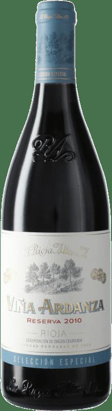 21,95 € 免费送货 | 红酒 Rioja Alta Viña Ardanza Reserva D.O.Ca. Rioja 西班牙 Tempranillo, Grenache 瓶子 75 cl