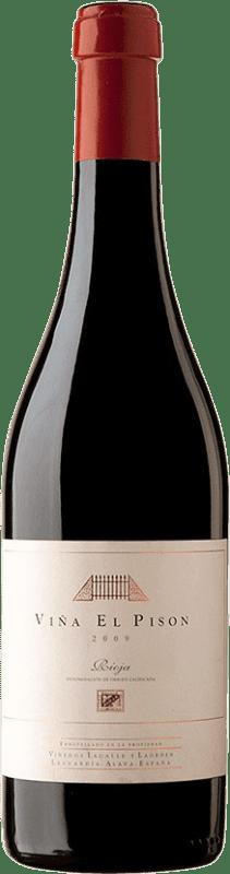 491,95 € 免费送货 | 红酒 Artadi Viña El Pisón 2009 D.O. Navarra 纳瓦拉 西班牙 Tempranillo 瓶子 75 cl