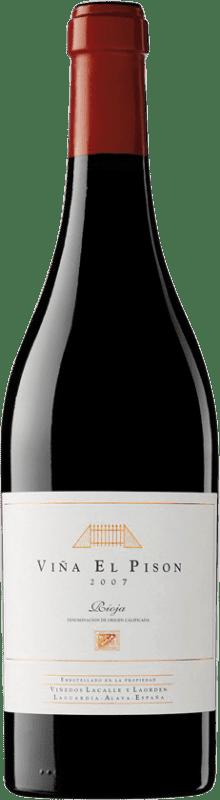 548,95 € 免费送货 | 红酒 Artadi Viña El Pisón 2007 D.O. Navarra 纳瓦拉 西班牙 Tempranillo 瓶子 75 cl