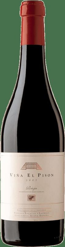 2 686,95 € Envío gratis | Vino tinto Artadi Viña El Pisón 2007 D.O. Navarra Navarra España Tempranillo Botella Jéroboam-Doble Mágnum 3 L