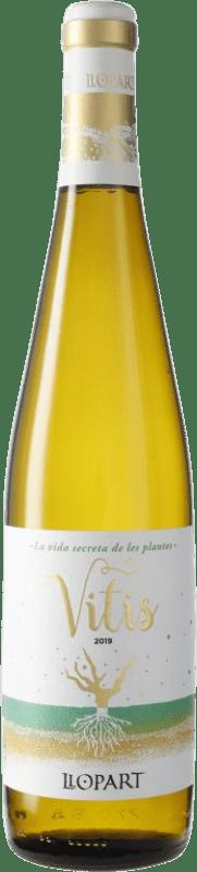 8,95 € Free Shipping | White wine Llopart Vitis D.O. Penedès Catalonia Spain Bottle 75 cl