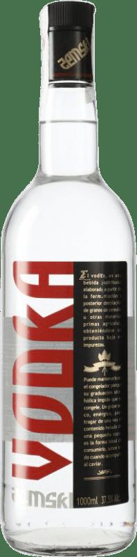 8,95 € Envío gratis | Vodka LH La Huertana Zemski España Botella Misil 1 L